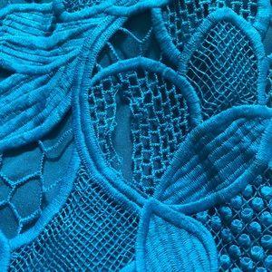 Lovers + Friends Dresses - Lovers + Friends Blue Caspian Shift Dress Size M